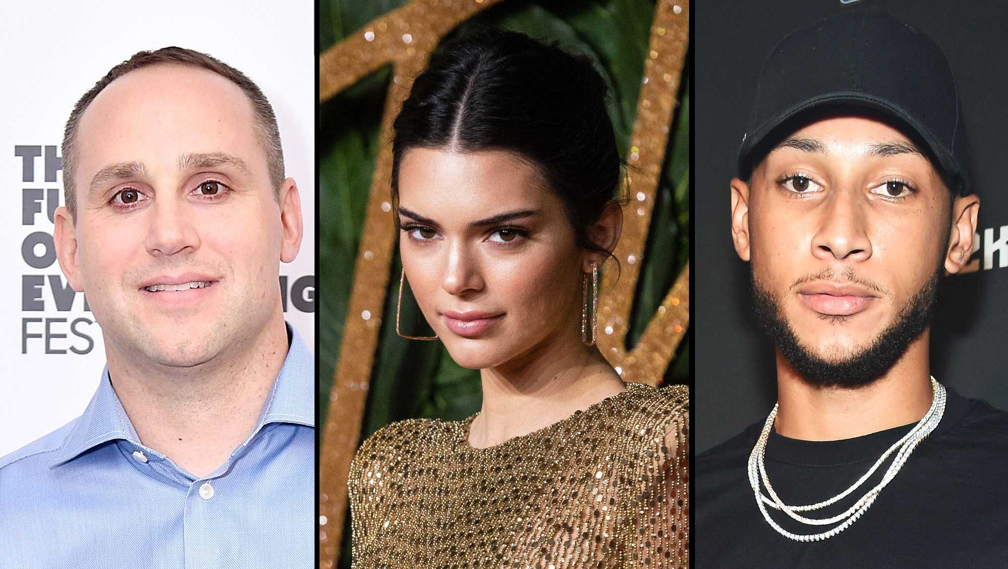 Michael Rubin, Kendall Jenner and Ben Simmons